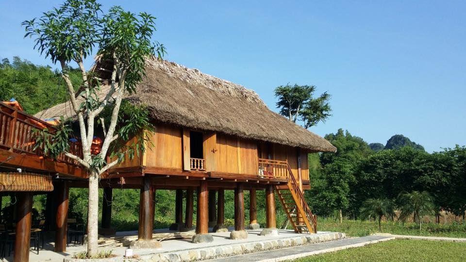 nha san an lac eco farm hot springs mai chau hoa binh