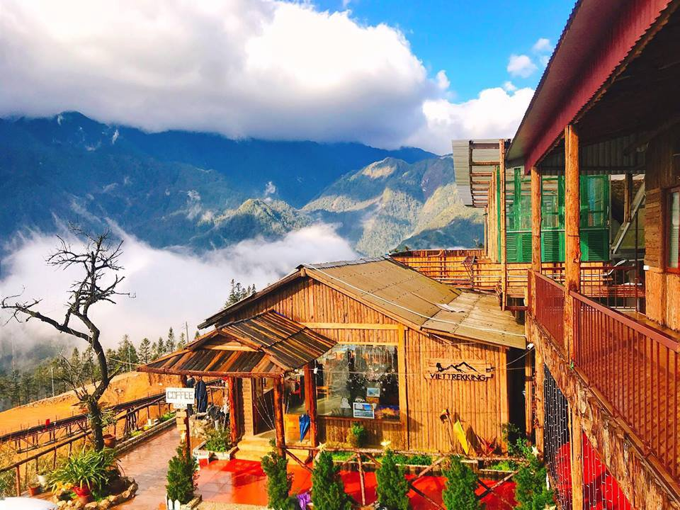 Với những view đẹp như thế này, VietTrekking xứng đáng lọt top những homestay đẹp ở Sapa